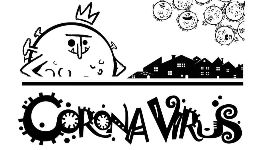 El cuento del coronavirus. Disfrutar y colorear